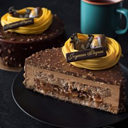 Choco-caramel 6-8 personnes