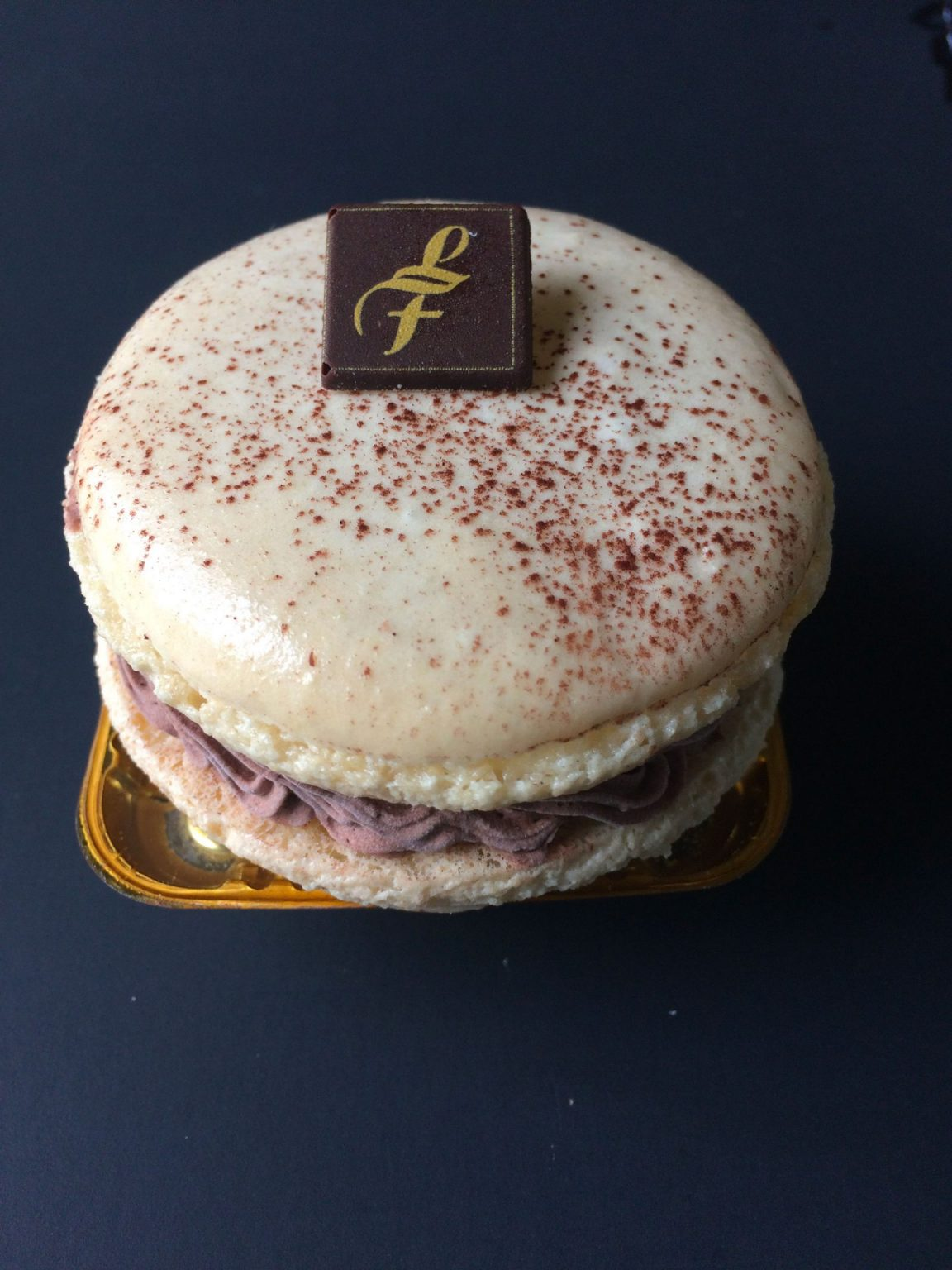 Macaron chocolat individuel
