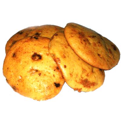 Biscuit crème sûre et raisins