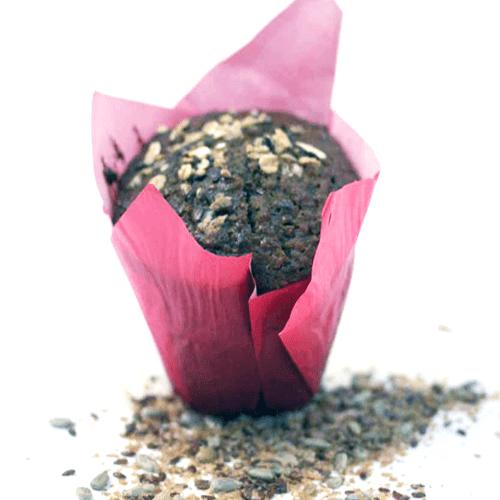 Muffin muesli et dattes