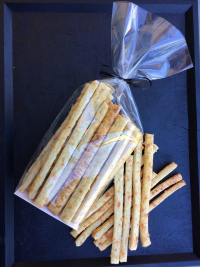 Pailles au fromages