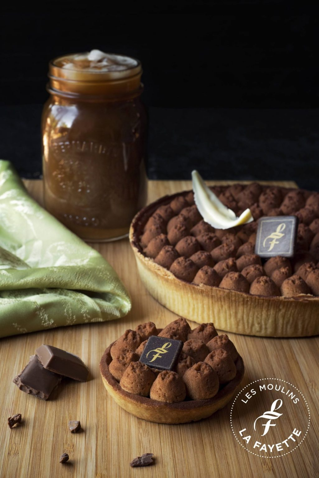 Tartelette chocolat praliné